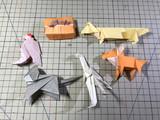 即興創作折り紙5