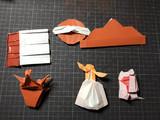 即興創作折り紙8