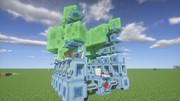 #Minecraft スライムタワー?いえ、輸送機です  #JointBlock