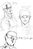 syamu gameの作画の変遷