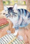 猫ただいま勉強中!