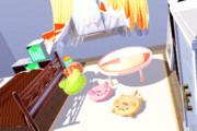 【MMD】寝室ver1_01【モデル配布】