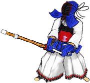 【残念画力】剣道する正邪描いてみたかった。