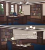 【MMD文アル】洋風の司書室
