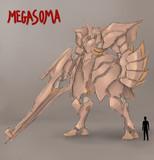 """メカ ラフ """"Megasoma"""""""