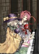 ピアノ古明地姉妹