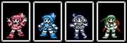 (更新)宇宙最速で星をみても走り続ける茜葵ずん子ドット絵セット~biim兄貴を添えて~.no1