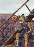 スラム街の山猫