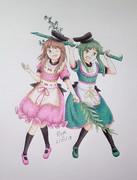 Satono Nishida & Mai Teireida