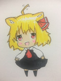 猫ルーミア