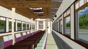 【MMDモデル配布】スロ81系お座敷客車【MMD鉄道】
