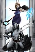 魔女+騎士