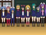 【東方学園】東方学園スクールアイドル部の設定変更。