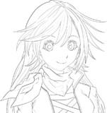 ライダーひじりん/聖白蓮を描いています..