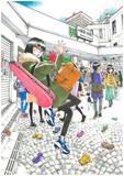 御茶ノ水駅…または、手袋は何故片方だけなくなるのか?