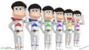 【子供時代の六つ子モデル】EXPO衣装作ってみました