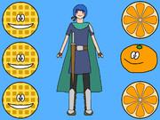 WOW (Waffle, Orange, Warrior-boy)