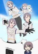 フィギュアスケートに興味を持ち始めた乙倉悠貴さん