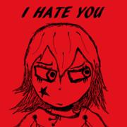I HATE YOUな子