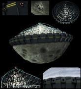 【モデル配布】白色彗星都市帝国