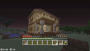 vitaの暇人のマイクラ都会作り日記 番外編サバイバルの家