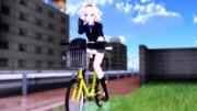 【MMD】チャリンコJK【ニャリス】