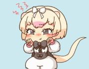 【GIF】威嚇するヒメアリクイちゃん