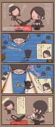 天龍ちゃんと龍田さんとデザエモン1