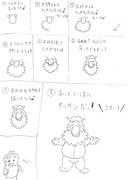 オッサンさんの絵描き歌(雑)