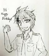 英雄さん誕生日おめでとうございます!