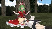 普通の魔法使い魔理沙姉さん#08「通りすがりの昼寝娘」