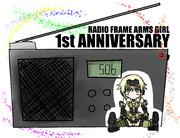 ラジオFAガール一周年