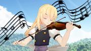 普通の魔法使い魔理沙姉さん#10「ヴァイオリン魔理沙」
