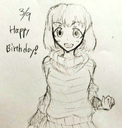 忍ちゃん誕生日おめでとう!