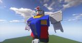 Minecraft」対戦用機体作成中4「jointblock