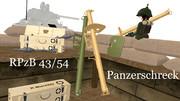 【MMDモデル配布】RPzB 43/54 パンツァーシュレック