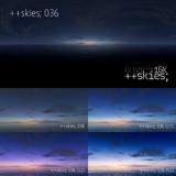 [HDR形式あり] ++skies; 036 [16k8k/8k4kスカイドーム素材配布]