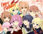 Happy Birthday 奈央ちゃん!