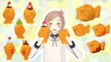 【MMD】たい焼きとたい焼きっぽいやつ【アクセサリ配布】
