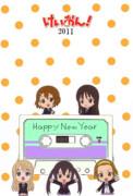 けいおん!年賀2011(HTT全員集合Ver)