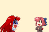 【ドット絵】コハエース版遠野家当主と素敵な使用人さん・差分【月姫】