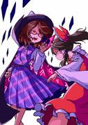 霊夢と菫子♪