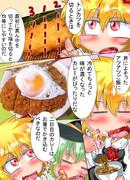 二日目丼カレー