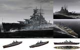 MMD用モブ超弩級戦艦1939(モビエツキーモブーズ)セット
