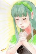 ワンドロずん子【祈り】