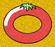 輪のトマト