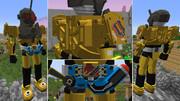 【minecraft】仮面ライダーグリスを作ってみた【jointblock】