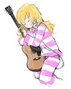ギターって「抱き」心地いいですよね