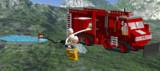LDDで装軌式消防車作ってみた。