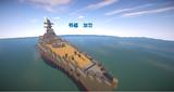 【Minecraft】戦艦 加賀